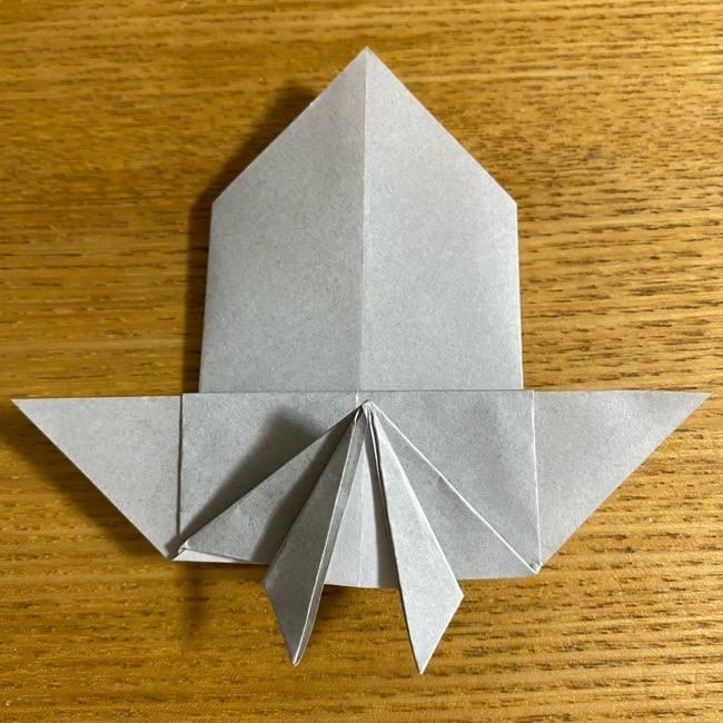 折り紙のフクロウはリアルでかわいい♪折り方作り方 (29)