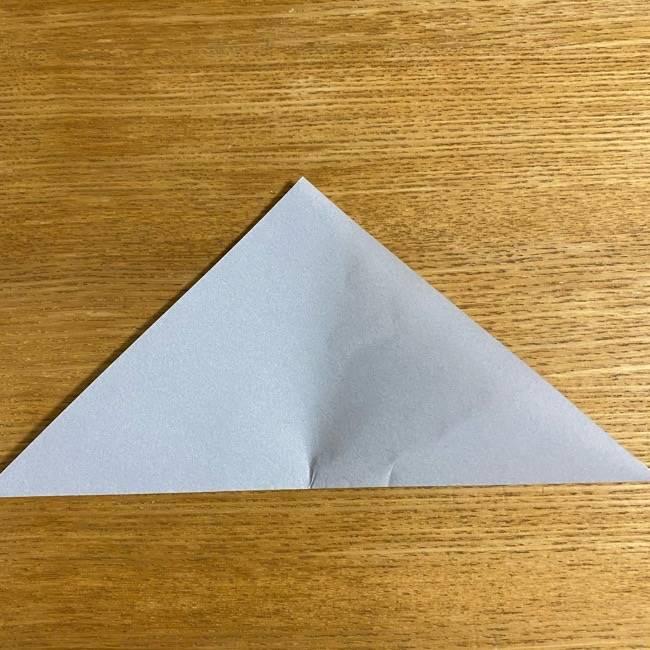 折り紙のフクロウはリアルでかわいい♪折り方作り方 (3)