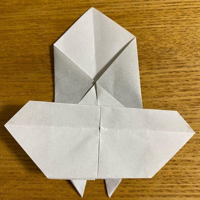折り紙のフクロウはリアルでかわいい♪折り方作り方 (32)
