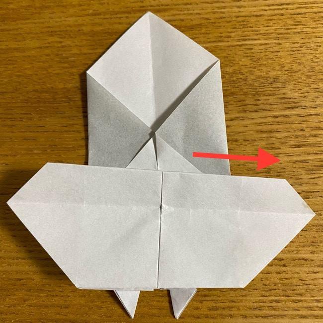 折り紙のフクロウはリアルでかわいい♪折り方作り方 (33)