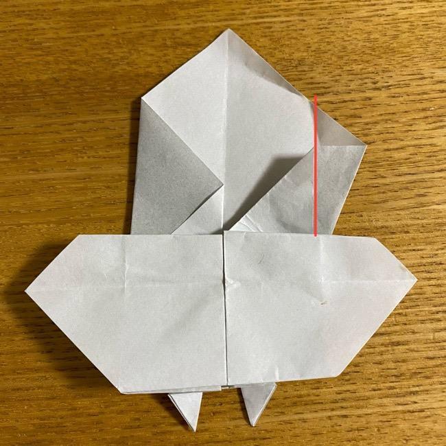 折り紙のフクロウはリアルでかわいい♪折り方作り方 (34)