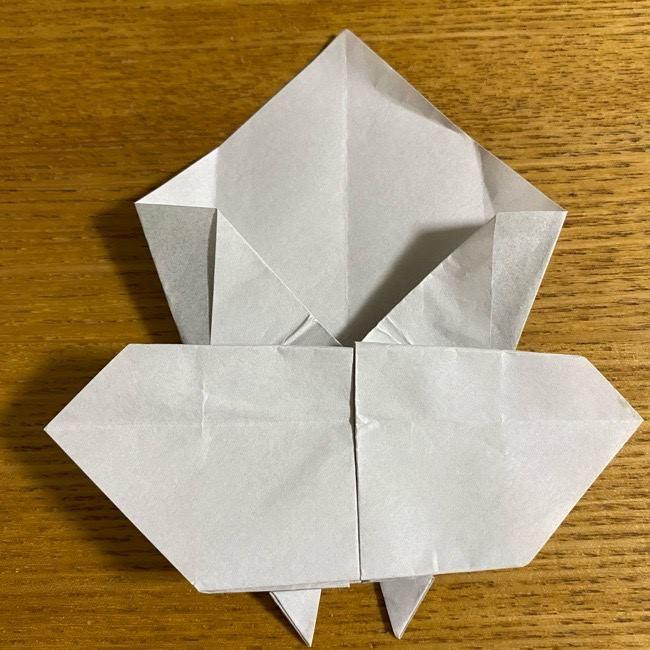 折り紙のフクロウはリアルでかわいい♪折り方作り方 (35)