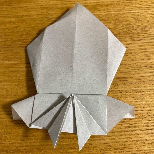 折り紙のフクロウはリアルでかわいい♪折り方作り方 (38)