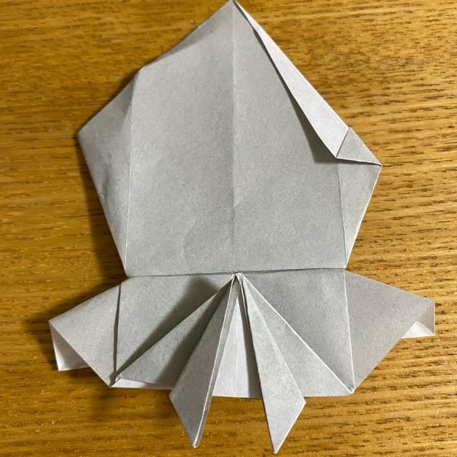 折り紙のフクロウはリアルでかわいい♪折り方作り方 (39)