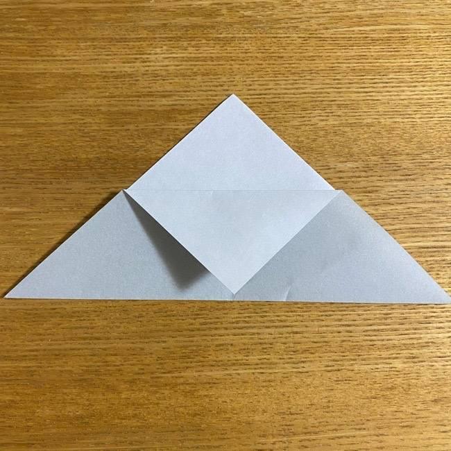 折り紙のフクロウはリアルでかわいい♪折り方作り方 (4)