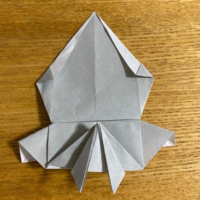 折り紙のフクロウはリアルでかわいい♪折り方作り方 (40)