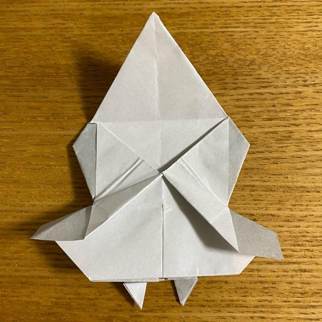 折り紙のフクロウはリアルでかわいい♪折り方作り方 (43)
