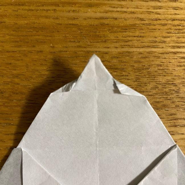 折り紙のフクロウはリアルでかわいい♪折り方作り方 (46)