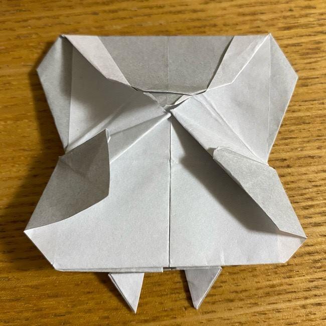 折り紙のフクロウはリアルでかわいい♪折り方作り方 (51)