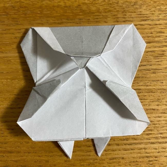 折り紙のフクロウはリアルでかわいい♪折り方作り方 (52)