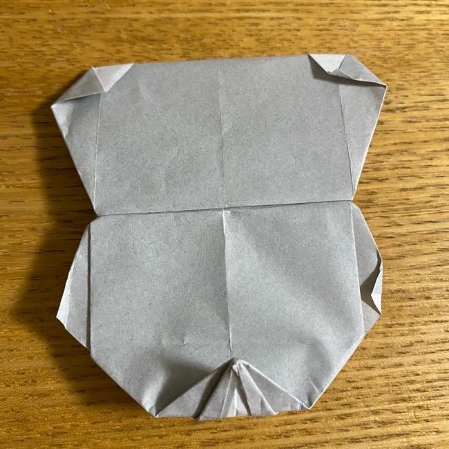 折り紙のフクロウはリアルでかわいい♪折り方作り方 (56)