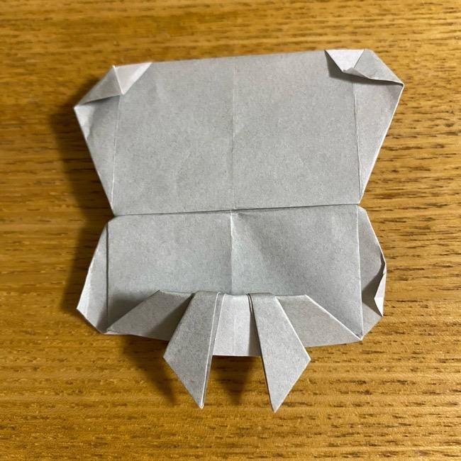 折り紙のフクロウはリアルでかわいい♪折り方作り方 (57)