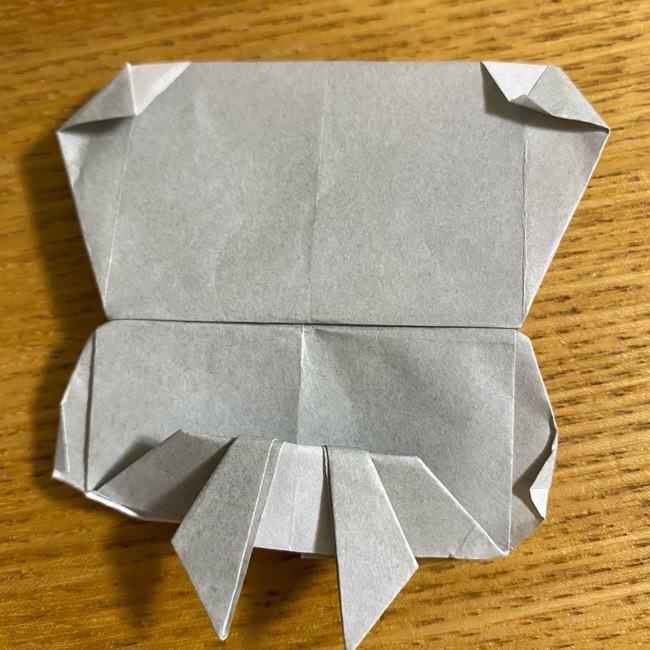 折り紙のフクロウはリアルでかわいい♪折り方作り方 (59)