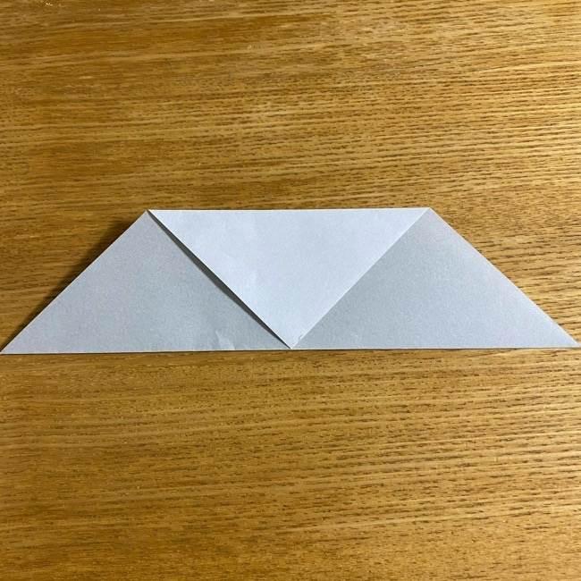 折り紙のフクロウはリアルでかわいい♪折り方作り方 (6)