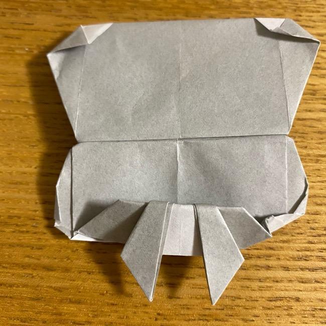 折り紙のフクロウはリアルでかわいい♪折り方作り方 (60)