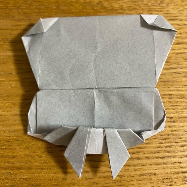 折り紙のフクロウはリアルでかわいい♪折り方作り方 (61)