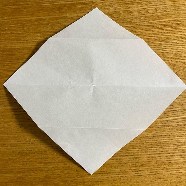 折り紙のフクロウはリアルでかわいい♪折り方作り方 (7)