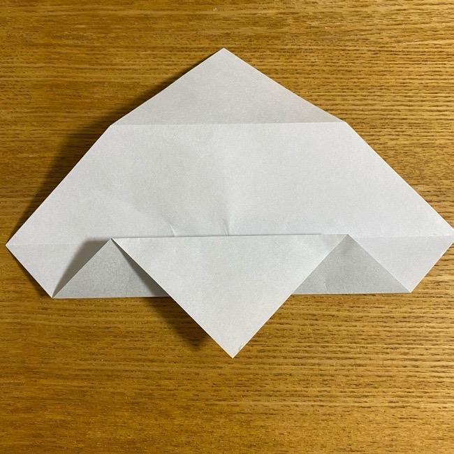 折り紙のフクロウはリアルでかわいい♪折り方作り方 (8)