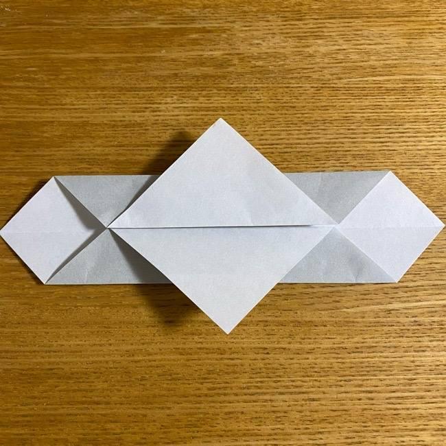 折り紙のフクロウはリアルでかわいい♪折り方作り方 (9)