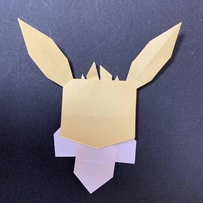 折り紙イーブイの作り方折り方補足 (1)