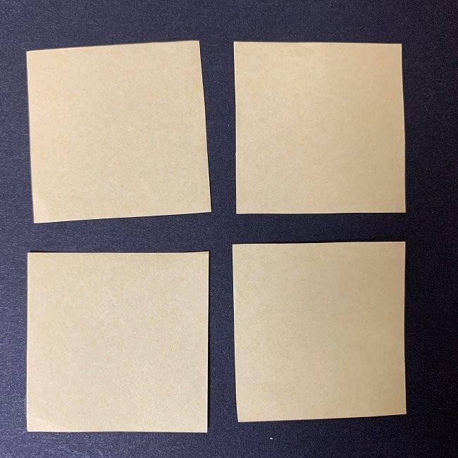 折り紙イーブイの作り方折り方 (10)