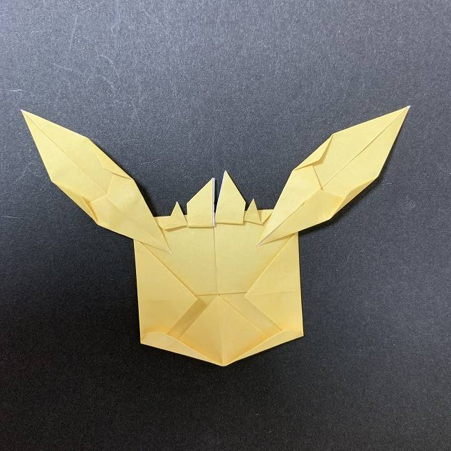 折り紙イーブイの作り方折り方 (16)