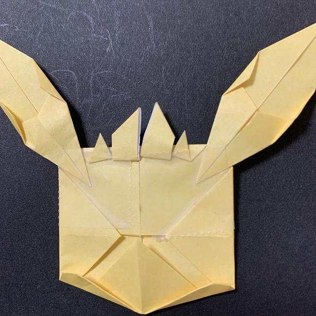 折り紙イーブイの作り方折り方 (17)