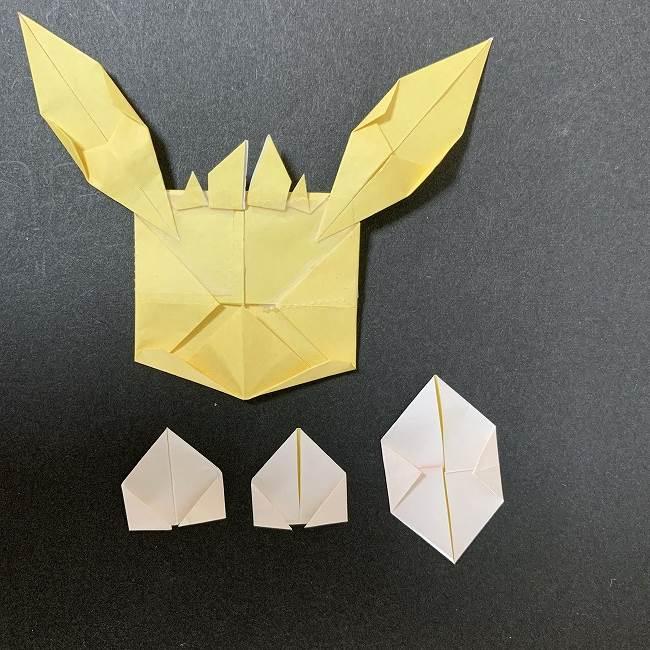 折り紙イーブイの作り方折り方 (27)