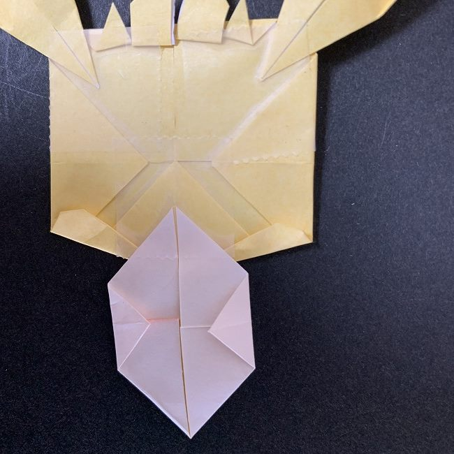 折り紙イーブイの作り方折り方 (28)