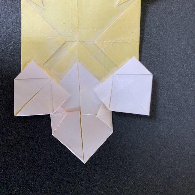 折り紙イーブイの作り方折り方 (29)