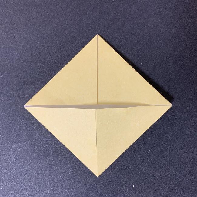 折り紙イーブイの作り方折り方 (3)