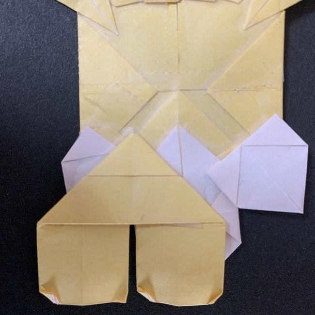 折り紙イーブイの作り方折り方 (39)