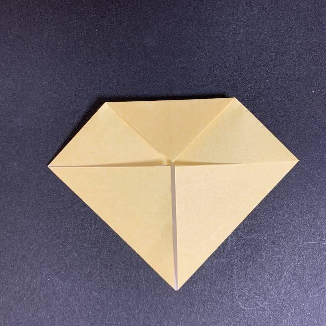 折り紙イーブイの作り方折り方 (4)