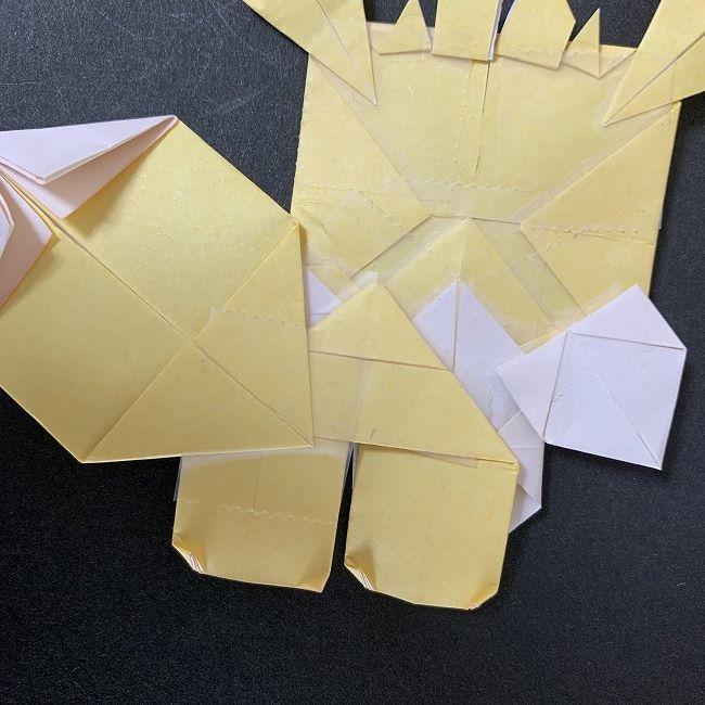 折り紙イーブイの作り方折り方 (49)