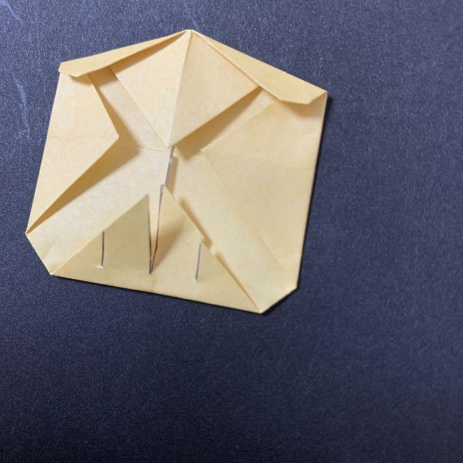 折り紙イーブイの作り方折り方 (8)