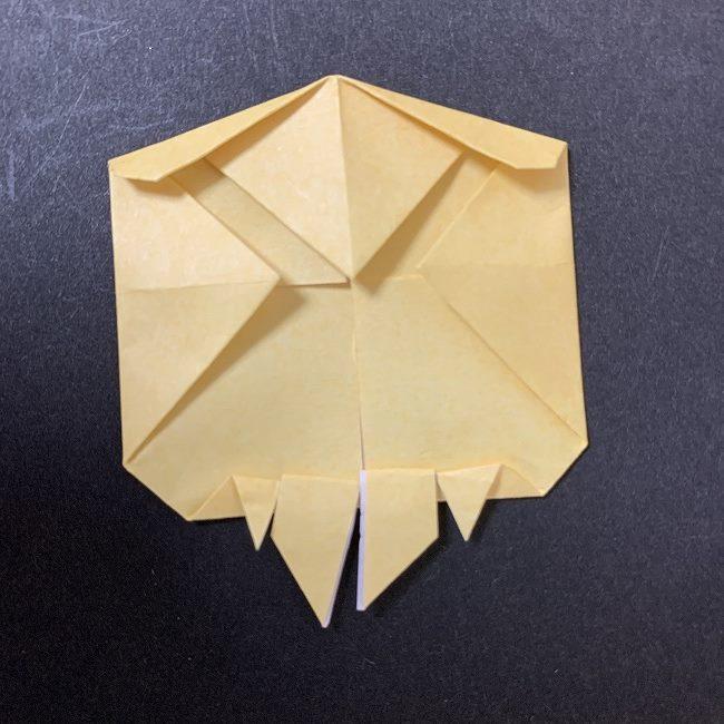 折り紙イーブイの作り方折り方 (9)