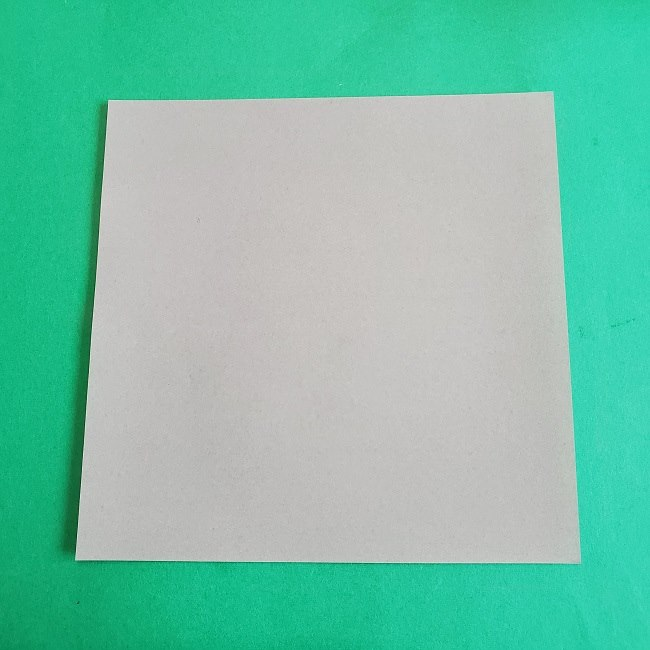 折り紙 簡単かわいいトトロの折り方作り方 (1)