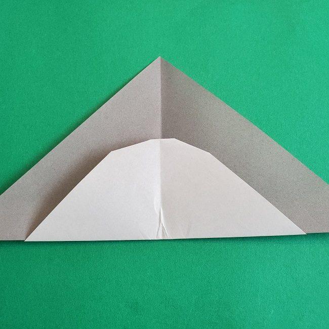 折り紙 簡単かわいいトトロの折り方作り方 (10)