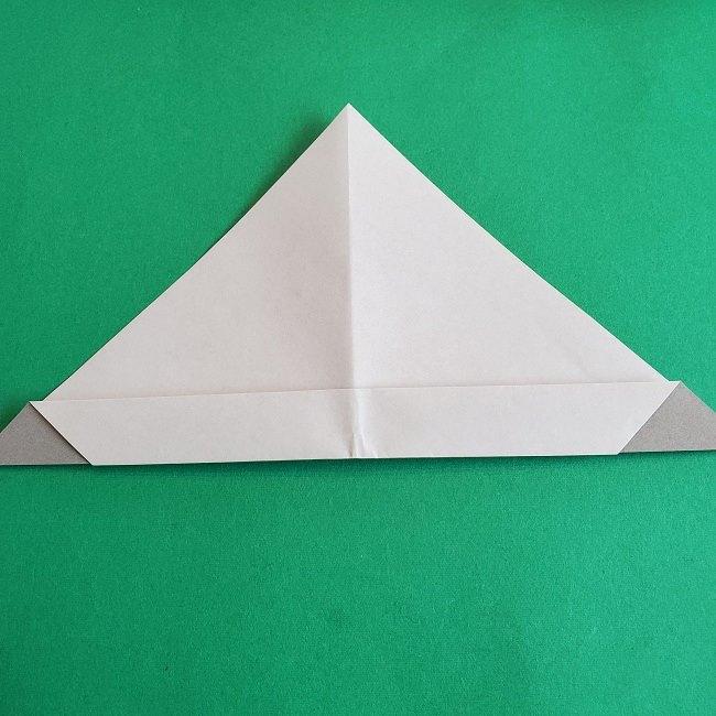 折り紙 簡単かわいいトトロの折り方作り方 (11)