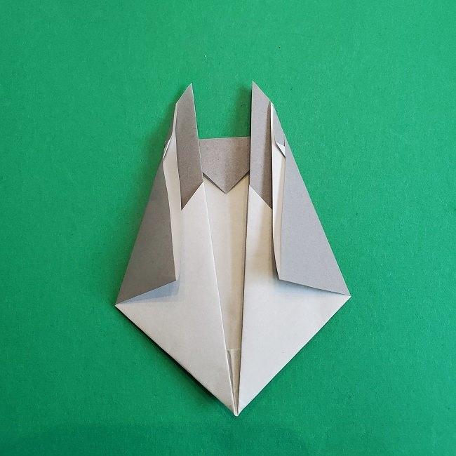 折り紙 簡単かわいいトトロの折り方作り方 (14)