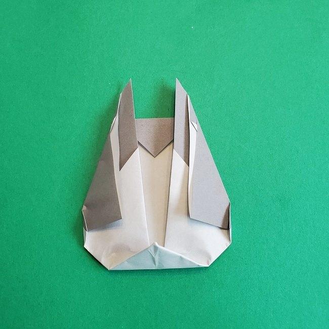 折り紙 簡単かわいいトトロの折り方作り方 (16)