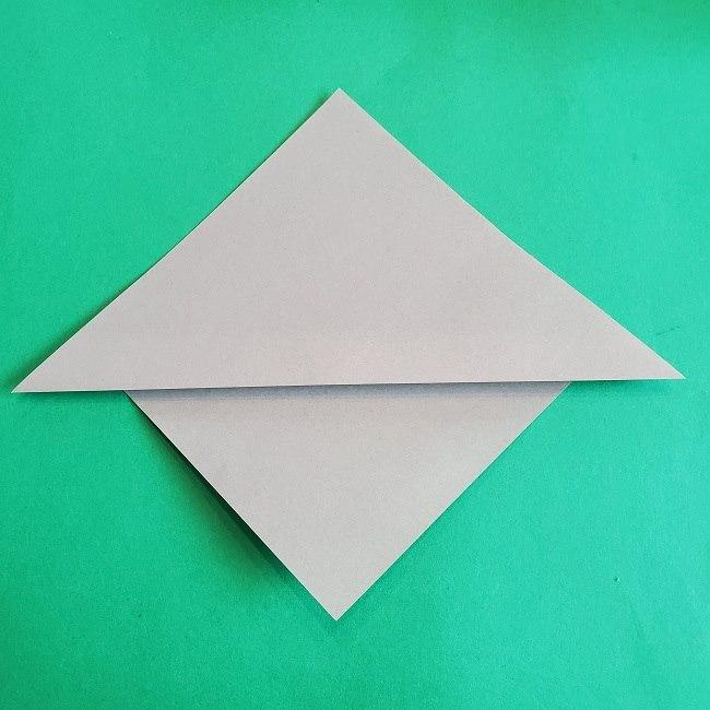 折り紙 簡単かわいいトトロの折り方作り方 (4)