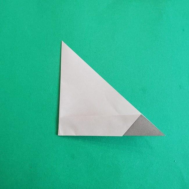 折り紙 簡単かわいいトトロの折り方作り方 (6)
