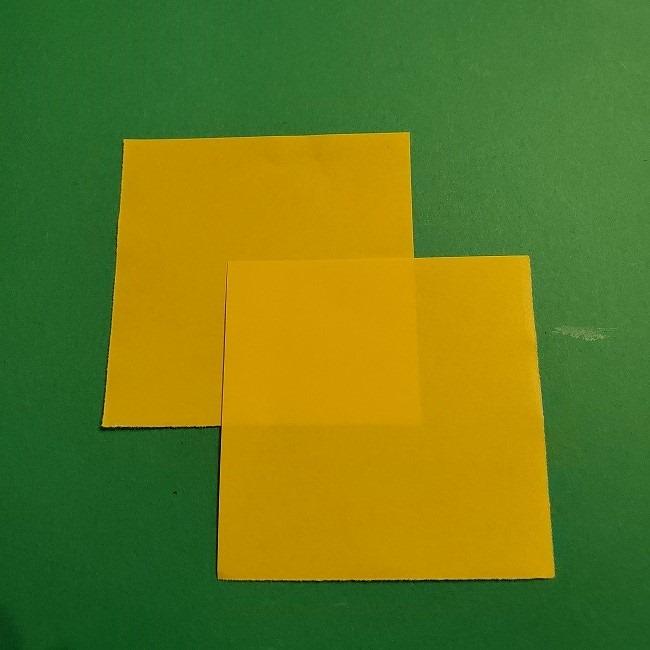 折り紙 菜の花のリース*用意するもの (2)