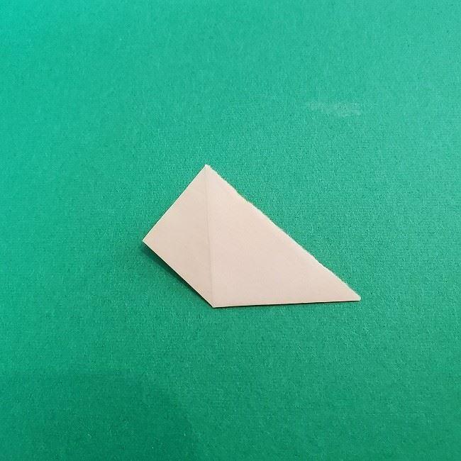 折り紙 菜の花(立体)の折り方作り方1花 (11)