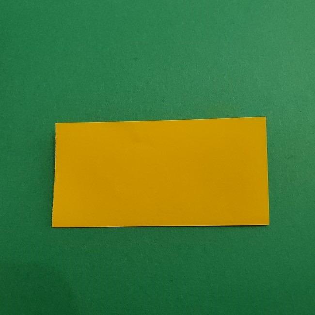 折り紙 菜の花(立体)の折り方作り方1花 (2)
