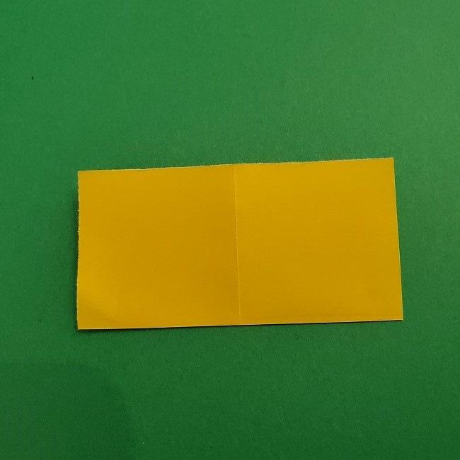 折り紙 菜の花(立体)の折り方作り方1花 (4)