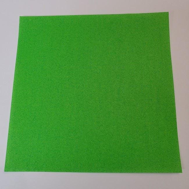 折り紙 菜の花(立体)の折り方作り方2土台 (1)