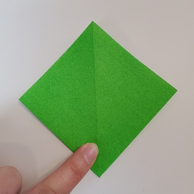 折り紙 菜の花(立体)の折り方作り方2土台 (10)