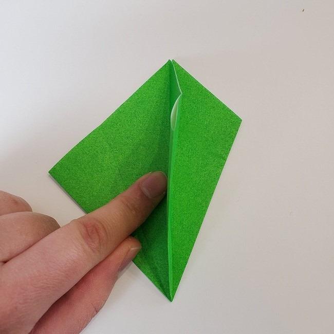 折り紙 菜の花(立体)の折り方作り方2土台 (13)
